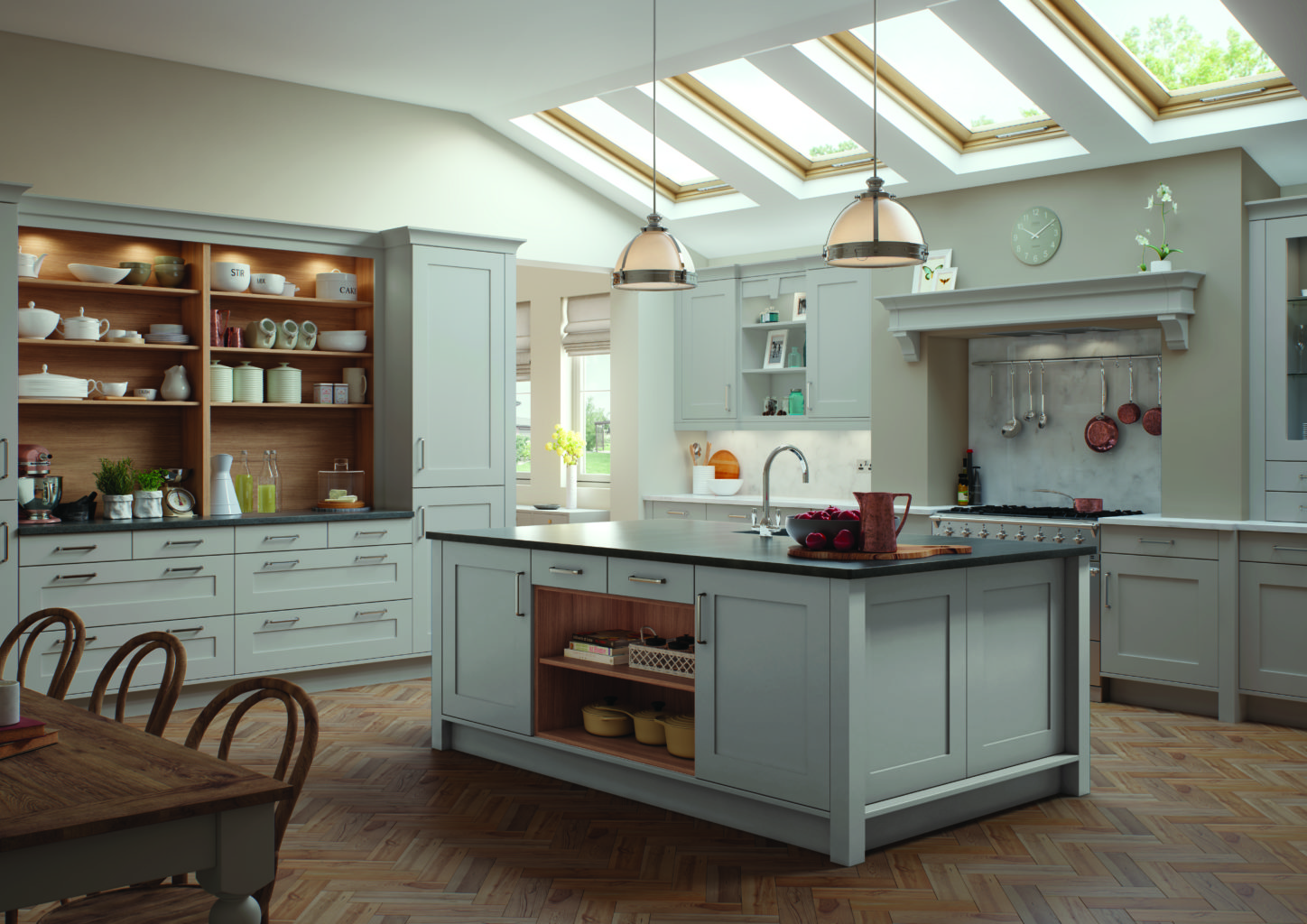 kitchen showcases